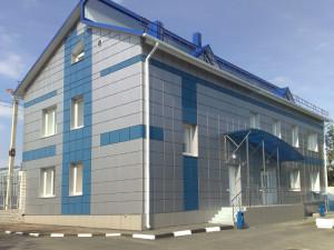 отделка фасада в Тюмени панелями-касетами